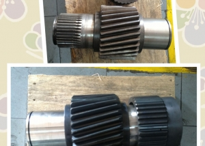 Helical Shaft & Case Hardening